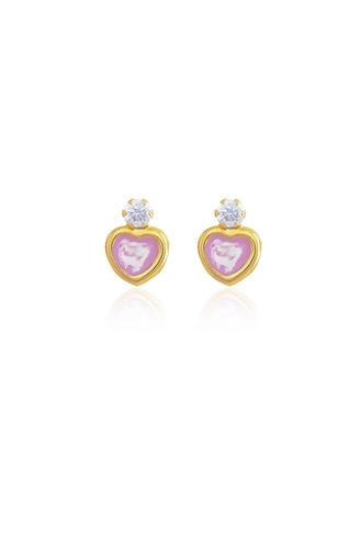 Σκουλαρίκια Καρδιά Ζιργκόν
