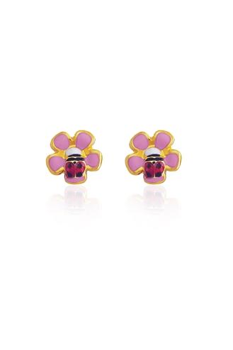 Σκουλαρίκια Λουλούδι Πασχαλίτσα