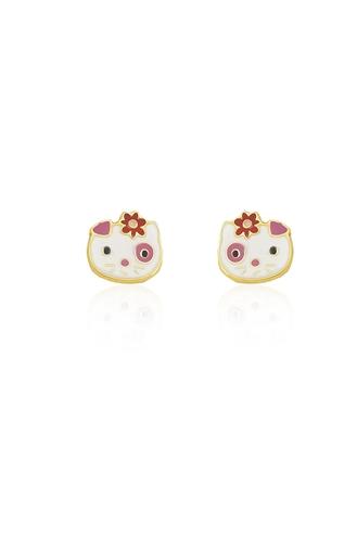 Σκουλαρίκια Hello Kitty
