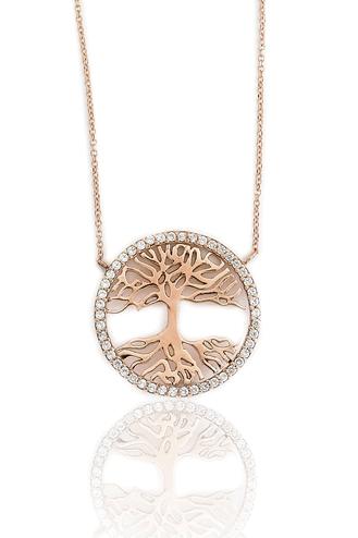 Κολιέ Tree of Life White