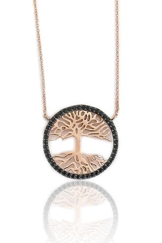 Κολιέ Tree of Life Black