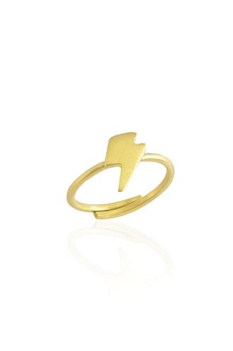 Δαχτυλίδι Χειροποίητο Κεραυνός