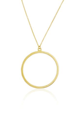 Κολιέ Circle Gold