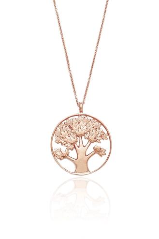 Κολιέ Pink Tree of life