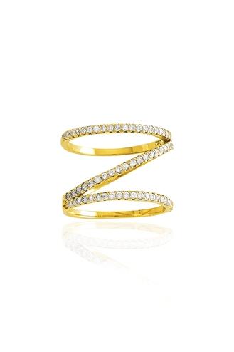 Δαχτυλίδι Κίτρινο Z