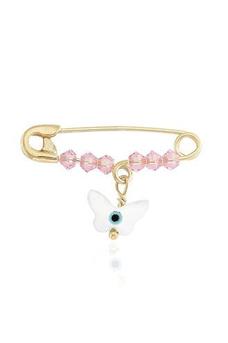 Παιδική Παραμάνα Ροζ Λευκή Πεταλούδα