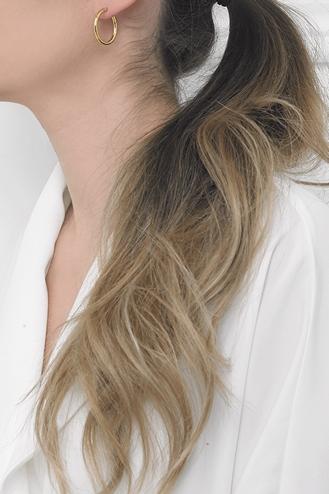 Σκουλαρίκια Κρίκοι X Thin