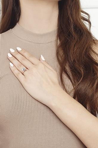 Δαχτυλίδι Μάτι White