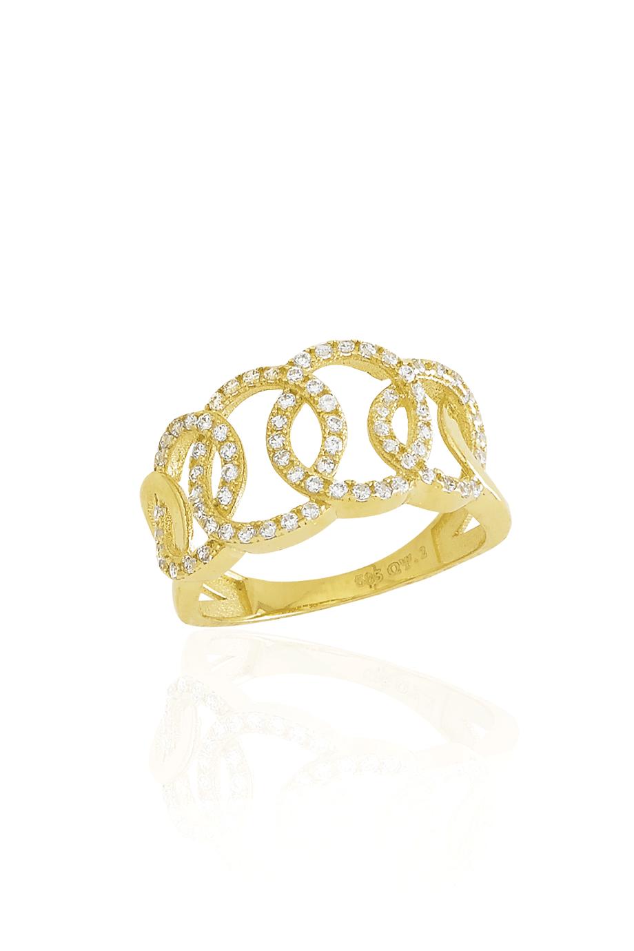 Δαχτυλίδι Χρυσό Chic Lady