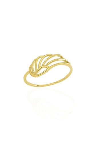 Δαχτυλίδι Χρυσό Feather