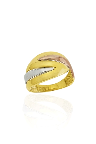 Δαχτυλίδι Χρυσό Lady Lines B