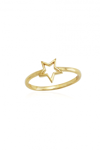 Δαχτυλίδι Χρυσό Star