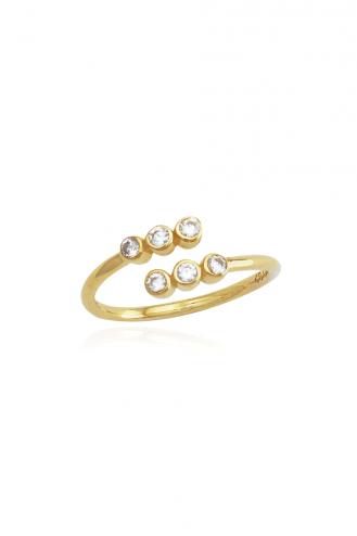 Δαχτυλίδι Χρυσό Glam