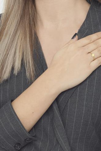 Δαχτυλίδι Χρυσό Flower