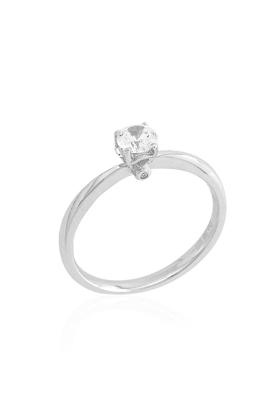 Δαχτυλίδι Μονόπετρο Double Stone