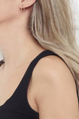 Σκουλαρίκια Κρίκοι Bold 1,5cm