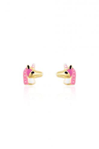 Σκουλαρίκια Μονόκερος