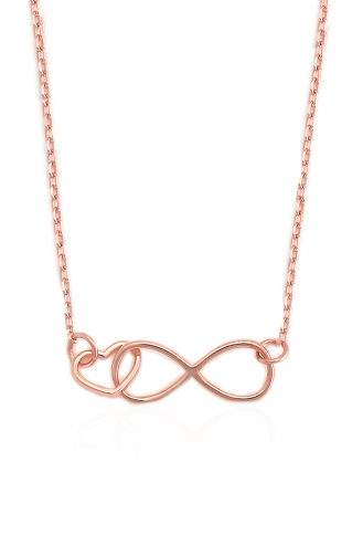 Necklace Infinity Heart R