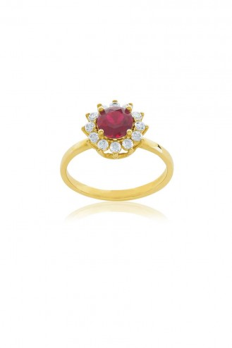 Δαχτυλίδι Ροζέτα Ρουμπίνι