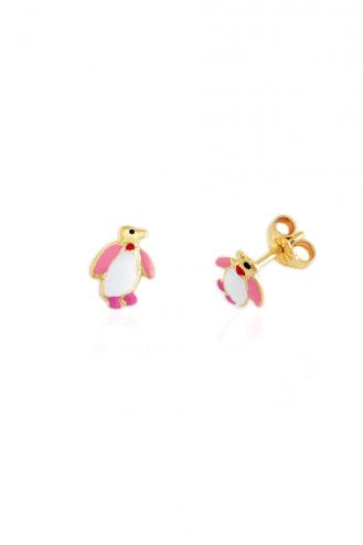 Earrings Penguin