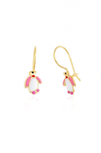 Earrings Hanging Penguin