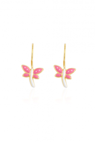 Earrings Hanging Butterfly...