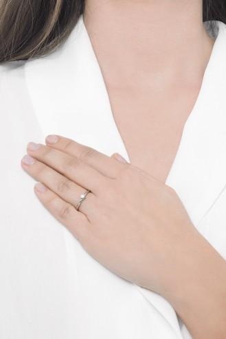 Δαχτυλίδι Μονόπετρο Μοντέρνο