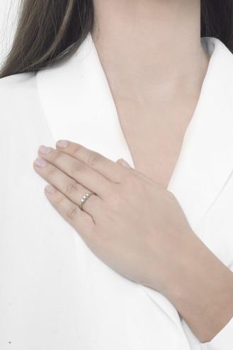 Δαχτυλίδι Λευκό Dots
