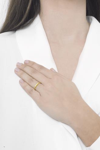 Δαχτυλίδι Χρυσό Dots