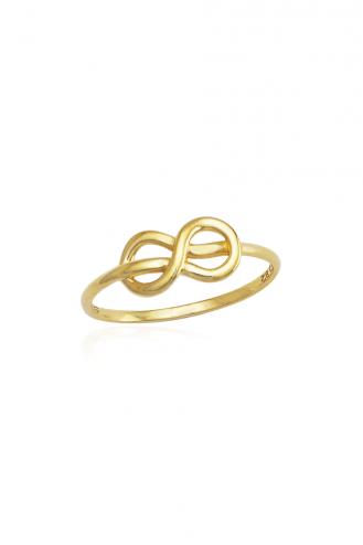 Δαχτυλίδι Χρυσό My Infinity