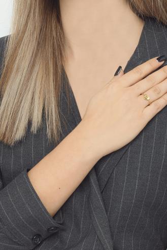 Δαχτυλίδι Χρυσό Καρδιά