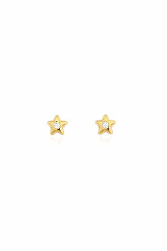Earrings Gold Little Stars