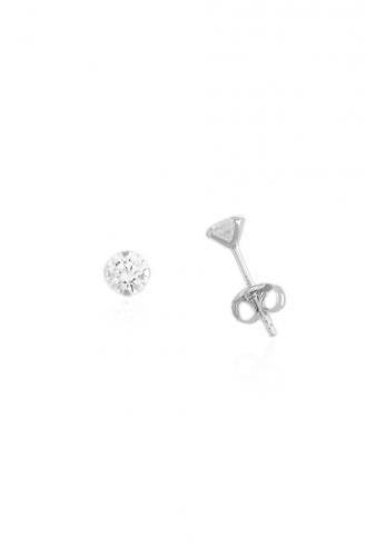 Σκουλαρίκια Μονόπετρα Β