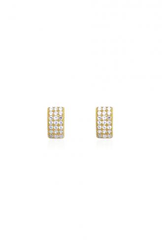 Σκουλαρίκια Χρυσό Καρφωτό