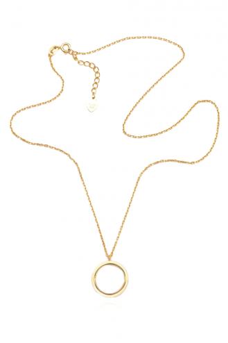Κολιέ Gold Circle