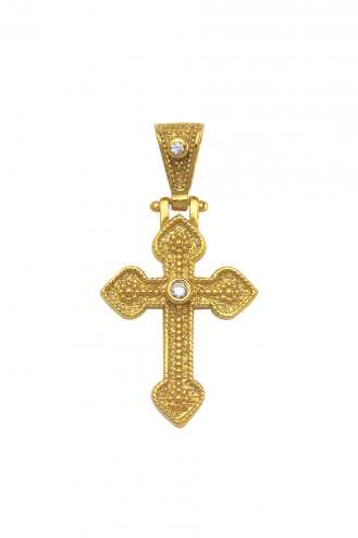 Vintage Cross with Angles