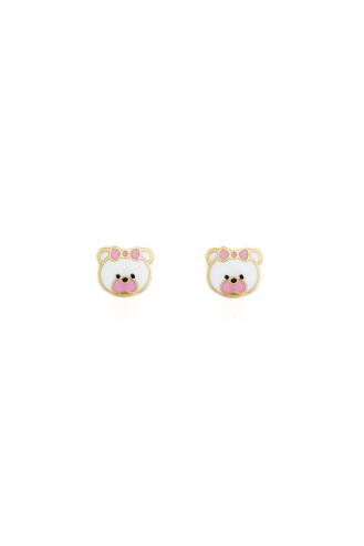 Σκουλαρίκια Αρκουδάκια