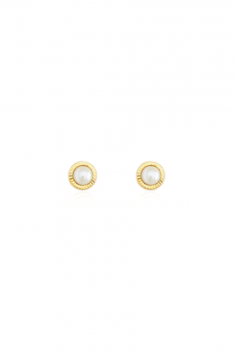 Earrings Pearls Rozeta