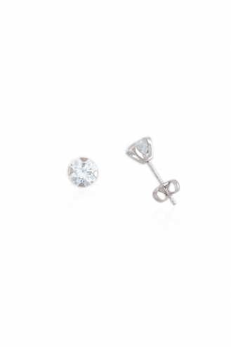Earrings One Stone C