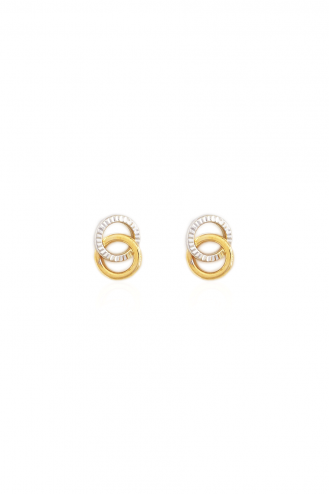 Σκουλαρίκια Two Circles