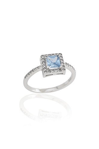 Δαχτυλίδι Blue Square