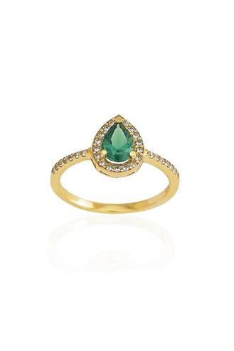 Δαχτυλίδι Green Pear