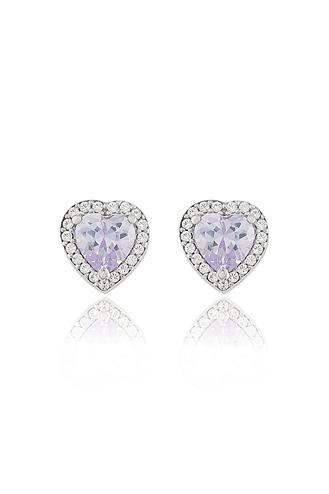 Σκουλαρίκια Purple Heart