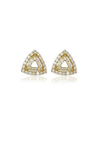 Σκουλαρίκια Διπλό Τρίγωνο