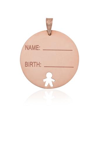 Κρεμαστό για Νεογέννητο Όνομα & Ημερομηνία