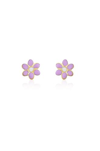 Σκουλαρίκια Ροζ Μαργαρίτες
